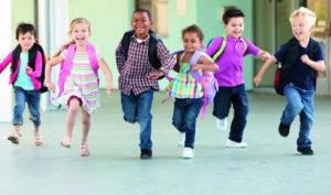 nens sortint de l'escola
