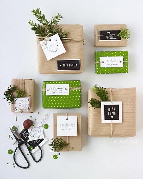 ideas de cajas para regalos de navidad