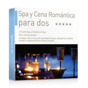 Pack Regalo Spa y Cena Romántica