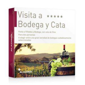 Pack Regalo Visita a Bodega y Cata de Vino para dos