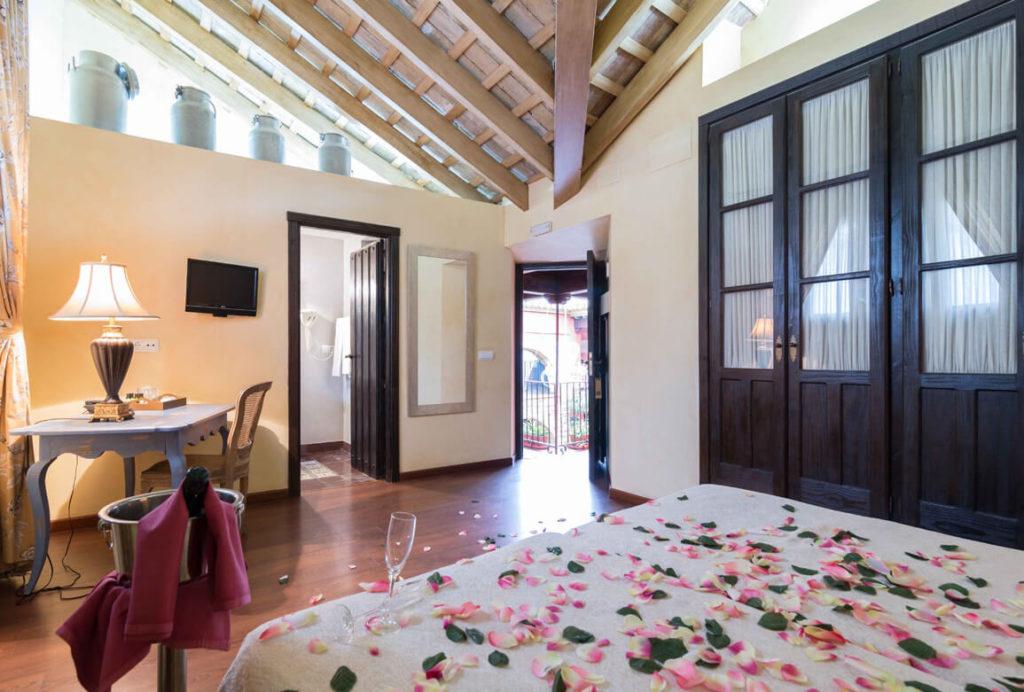 Hoteles con Jacuzzi Privado en la habitación en Sevilla