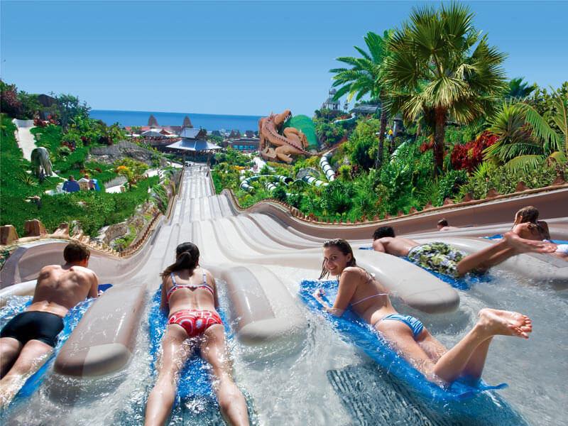 Parques temáticos en España: Siam Park Tenerife