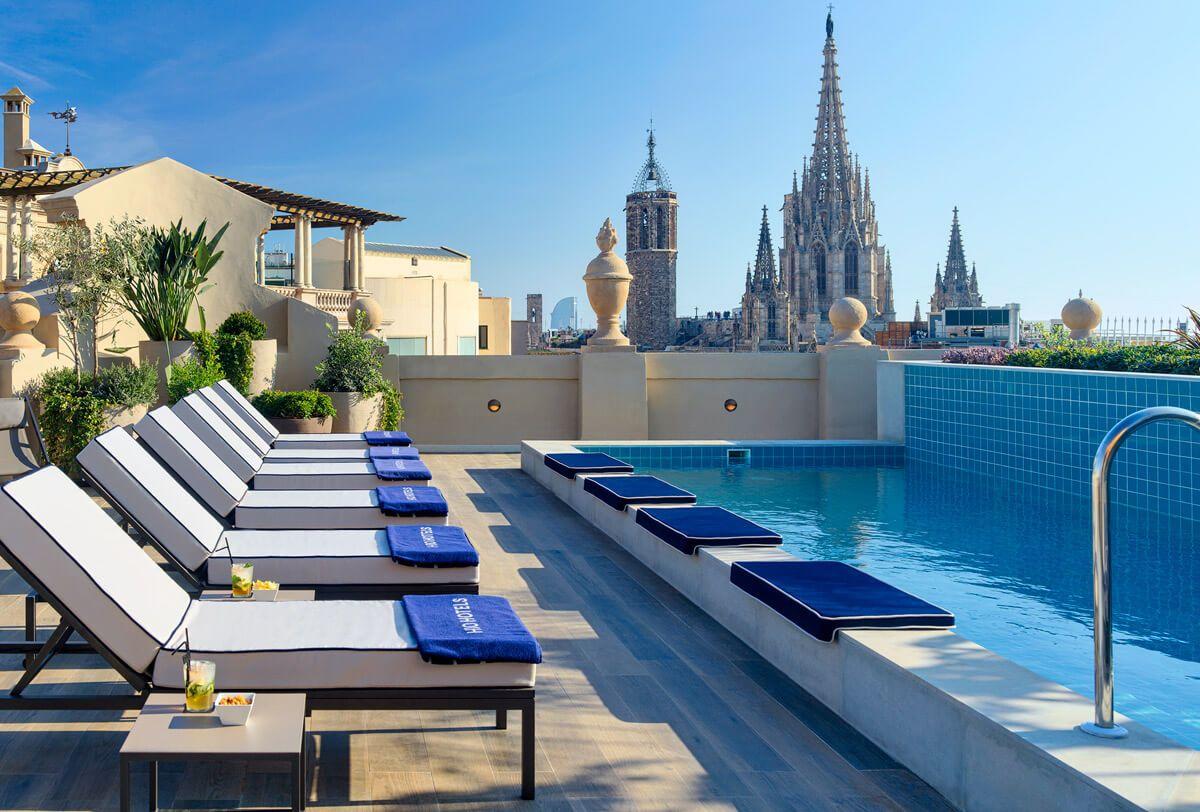 7 Terrazas De Hoteles Con Vistas Increíbles A La Ciudad De