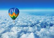 Regalar vuelo en globo