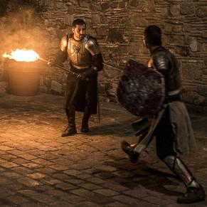 Visita Guiada al Palau Requesens con Copa de Cava y Espectáculo Medieval (Barcelona)