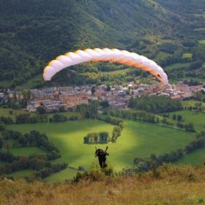 Vuelo en Parapente (Huesca)
