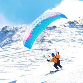 Speedtandem: Parapente en la Nieve (Huesca)
